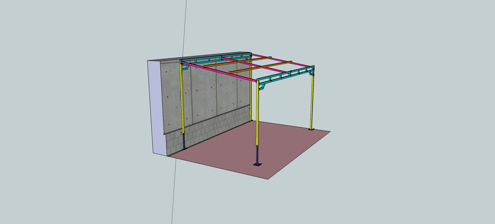 pergola acier soudure atypique. Black Bedroom Furniture Sets. Home Design Ideas