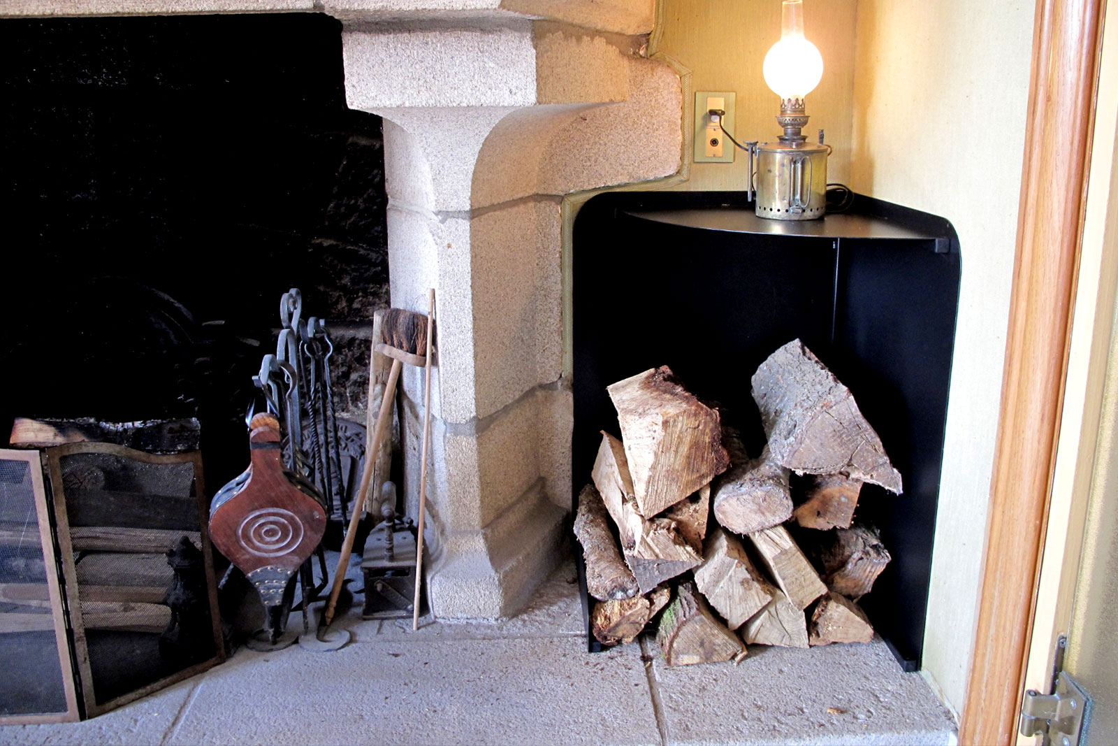 Rangement bois de chauffage soudure atypique - Rangement bois chauffage ...