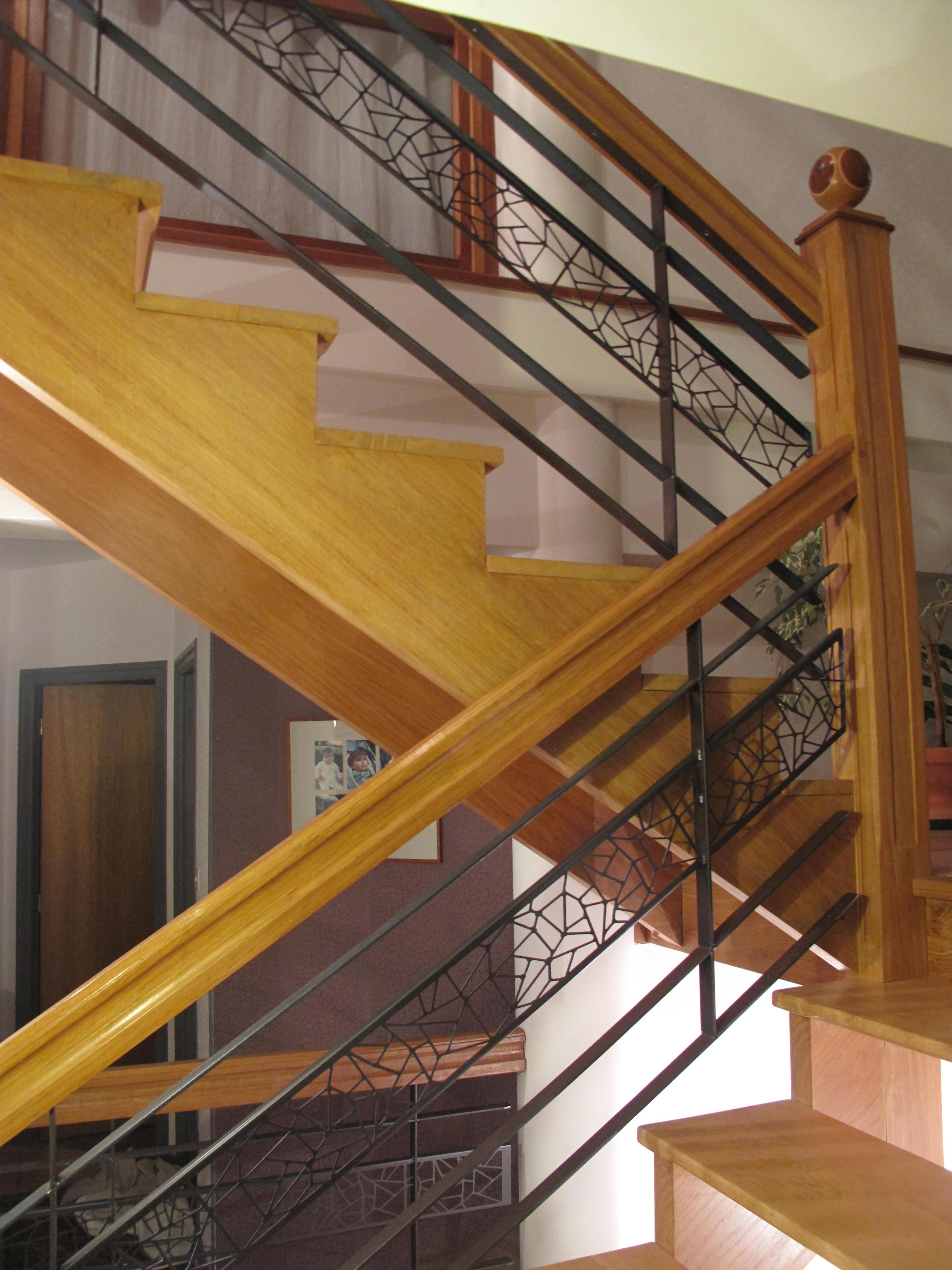 rambarde- acier-bois-design